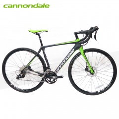 Cannondale Synapse Carbon Disc 105-22速700C彎把全碳纖碟煞公路車-消光黑/綠BLK